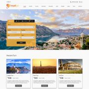 travel website template 02