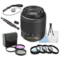 Save $40.00 Nikon 55-200mm f/4-5.6G ED AF-S DX Autofocus Lens + Filter & Accessory $159.99 Plus Free Shipping