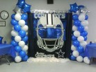 A Dallas Cowboys Baby Shower Theme for Die-hard Sports Fan