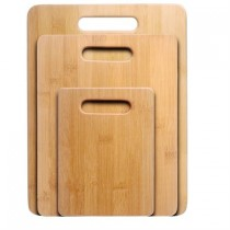 $15.96 Off Nuvita Bamboo 3 Piece Bamboo Cutting Board Set for $13.99 with free shipping