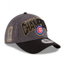 Chicago Cubs New Era 2016 World Series Champions Locker Room On Field 39THIRTY Flex Hat – Graphite/Black – $31.99