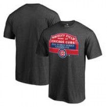 Chicago Cubs 2016 World Series Champions Sign Win T-Shirt – Heathered Gray – $27.99