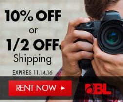 Camera Lenses: Two Ways to Save on Rentals $99 or More at BorrowLenses.com