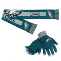 Philadelphia Eagles Gloves & Scarf Set – $14.99