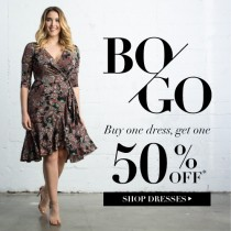 Valentine's Day Gifts – Dresses Are Buy One Get One 50% at Kiyonna