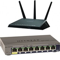 $50 off NETGEAR Nighthawk AC1900 Dual Band Wi-Fi Gigabit Router (R7000) Bundle with NETGEAR ProSAFE GS108T 8 Port Gigabit Smart Switch (GS108T) $170.99