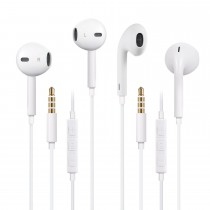 Vicartor Earphones 2Pack Earbuds/Headphones/Headsets with Remote Control and Mic $10.99