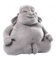 33% off GUND Huggy Buddha Gray Plush, 11 inches $19.99 + $4.00 shipping