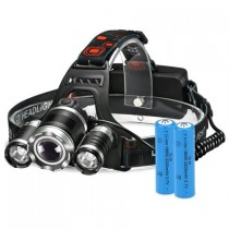 $80 (80% off) High Power LED Rechargeable Headlamp with 4 Light Modes $19.99 with Free Shipping