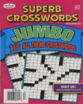 SUPERB CROSSWORDS JUMBO MAGAZINE $11.99 for 1 Year