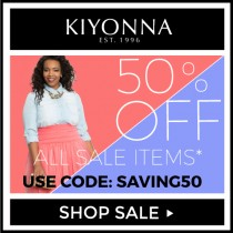 Kiyonna Offers Additional 50% off Sale Items Plus Free SPANX Power Short