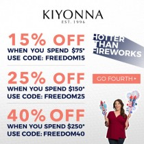 Kiyonna – Up to 40% off Sitewide