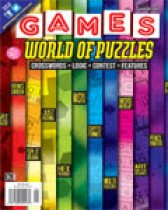 GAMES WORLD OF PUZZLES MAGAZINE Today Only $15.99 1 Year