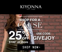Kiyonna Coupon :: 25% off all orders of $100 through Dec 11