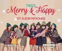 Merry & Happy $23.99 Plus Free International Shipping