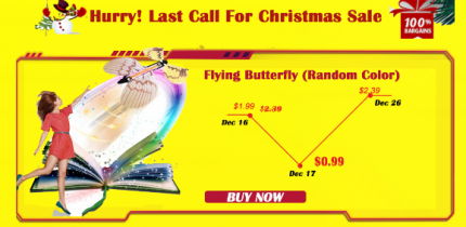 59% OFF Hurry! Last Call for Christmas Sale Ships FREE