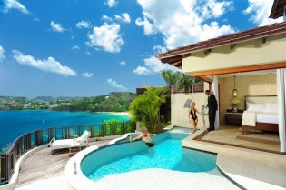 Get 65% off at Sandals Regency La Toc St. Lucia + $1000 Flight Credit! Offer valid on Bookings 1/1-1/31 for Travel 1/1-4/30