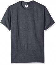 Russell Athletic Men's Basic T-Shirt, Black Heather, Large $8.00