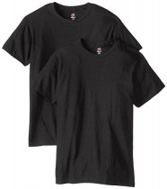 Hanes Men's Nano Premium Cotton T-Shirt (Pack of 2) 25% Off