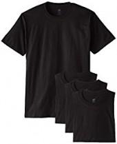 $1 off Hanes Mens ComfortSoft T-Shirt $13.45 (Pack of 4)