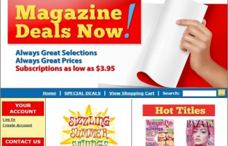 Extra 20% off any magazine priced $9.99 or less at Magazine Deals Now