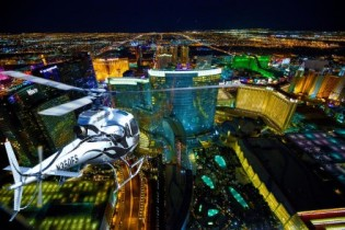 Deluxe Las Vegas Helicopter Night Flight with VIP Transportation 33% Off